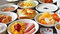 【朝食バイキング】朝ごはんを食べて今日も元気に♪