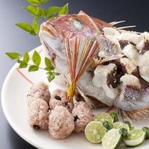 淡路島の旬の食材をダイナミックにお召し上がり頂きます≪料理イメージ≫