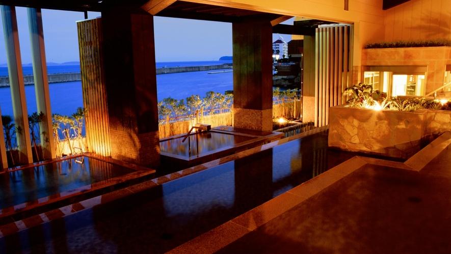 グループホテルの露天風呂もご利用頂けます≪ホテルニューアワジ 淡路棚田の湯≫
