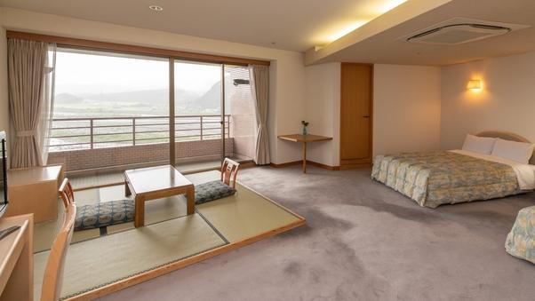 《禁煙》最上階デラックスツインルーム(姫川側)