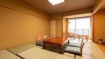 《禁煙》最上階和室【バス付客室】(姫川側)