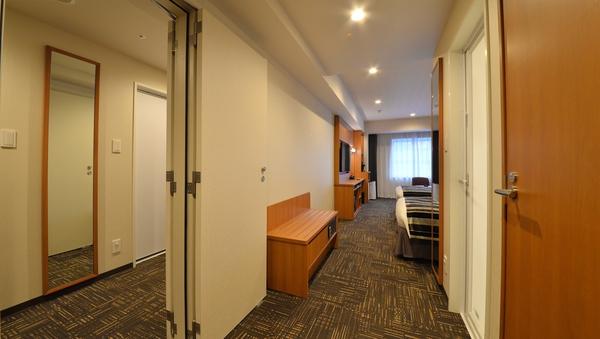 【禁煙】プレミアムコネクティングルーム ツイン2室