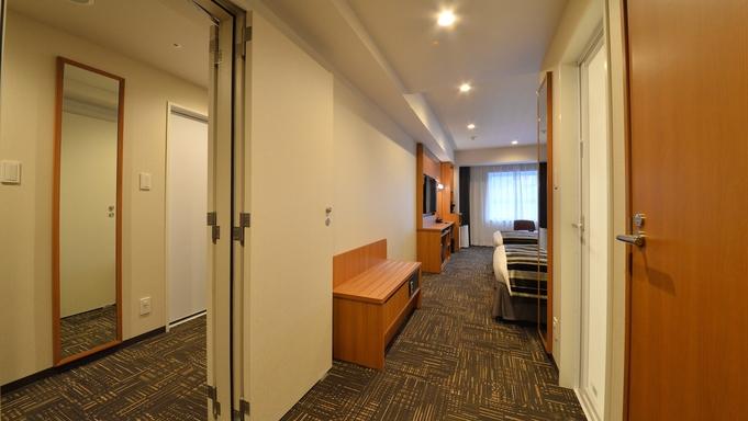 【コネクティングルームプラン/朝食付き】2名×2室利用のファミリー・グループの函館旅行へオススメ!