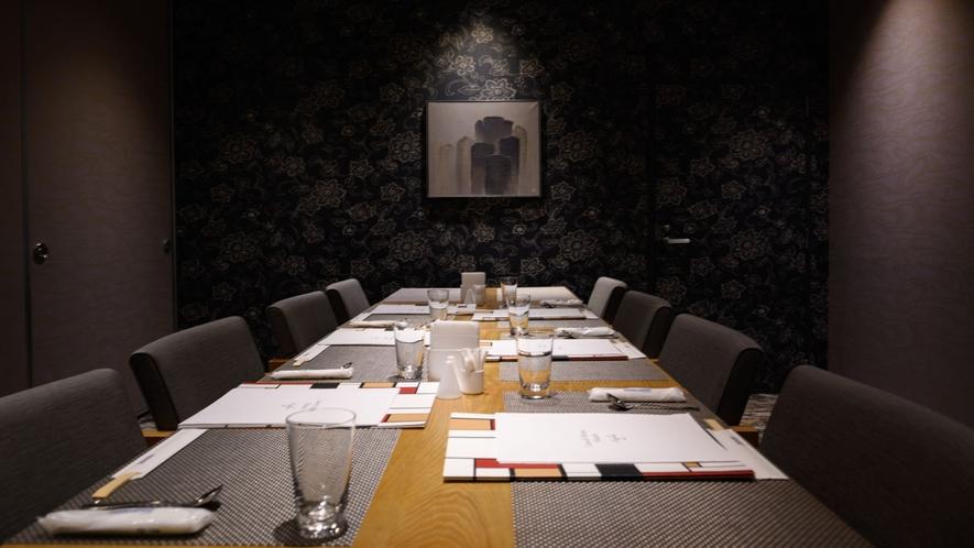 【東館1階】レストラン「アゼリア」個室一例