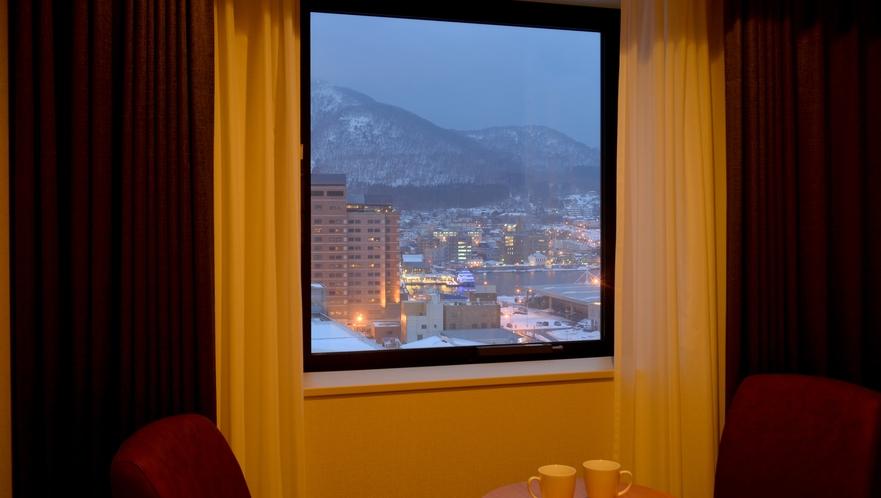 【本館】プレミアムツイン/27平米 窓からの眺望イメージ