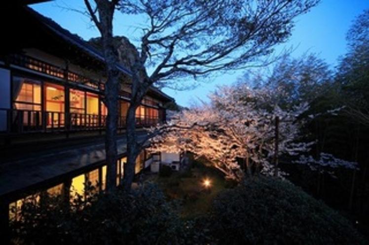 ギャラリー■別邸内庫所、客室外観(夜)