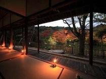 11月10日〜11月25日限定で九州最大の紅葉ライトアップ『たまゆらの夕べ』を開催。