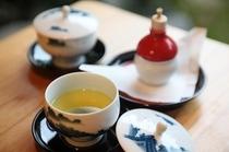 ギャラリー■当館は全てのお茶に有機栽培のお茶を使用しております。