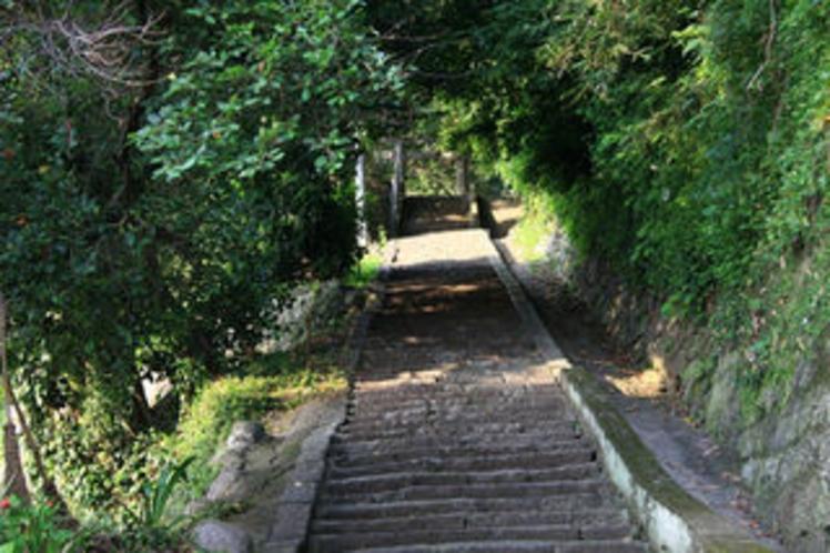 小浜神社石段