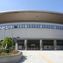 ★日本ガイシホール正面★コンサートツアーなどの会場です。