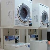 ★コインランドリー★当ホテル5Fにあり、洗剤不要で自動投入されます。