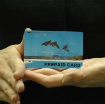 ★有料放送 TVカード★ホテルのTVカード自販機で販売中。