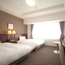 ◆ツインスタンダード◆広さ22平米◆ベッド幅120cm◆