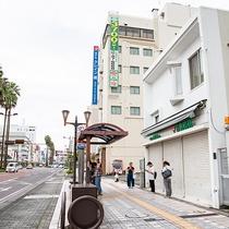 *【施設】バス停すぐなので、アクセス便利!道に迷う心配ナシ☆