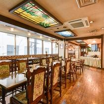 *【館内】レストラン「橘亭」こちらで、ゆっくりお食事をお召し上がり下さい。
