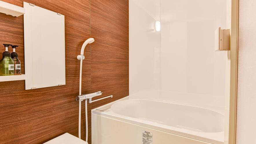 *【DXダブル】バストイレ別の独立洗面台付のお部屋です。Wi-fi完備。