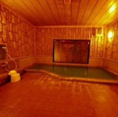 女性用大浴場 夜の様子