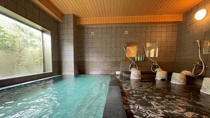 【大浴場】カランは6か所ご用意しております。