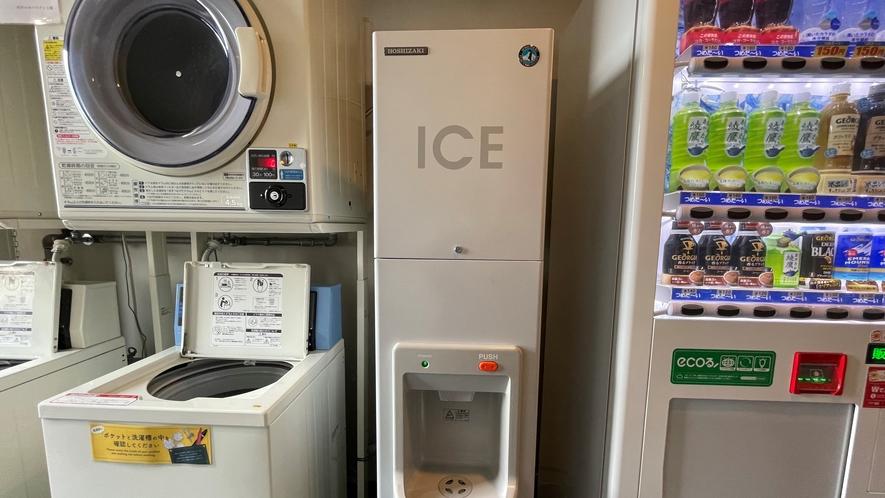 【製氷機】4階にご用意しております。