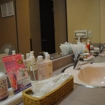 ☆女性大浴場洗面台