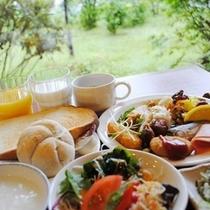 ☆和洋のバイキング朝食