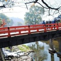 ◆高山陣屋方面へ架かる中橋