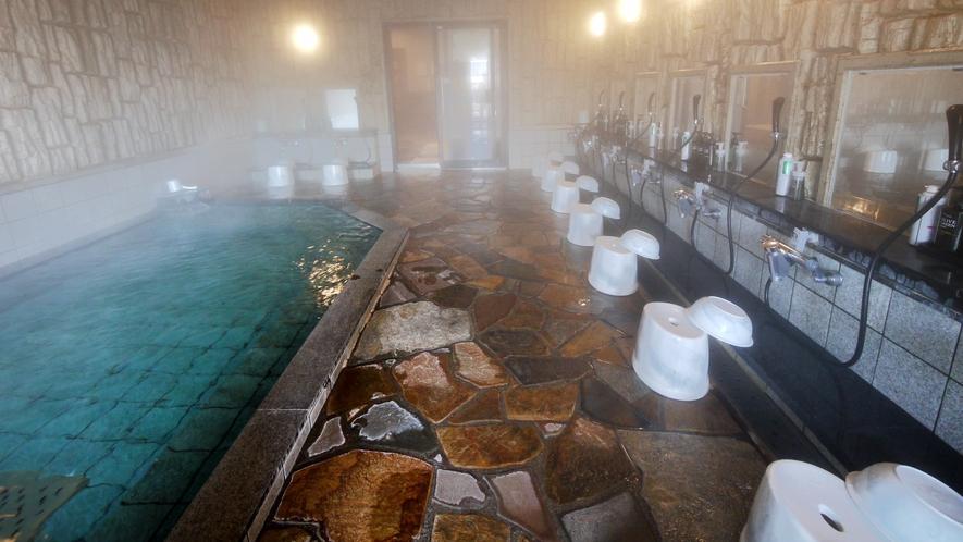 ■天然温泉大浴場(内湯)