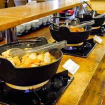 ◆バイキング朝食(鍋コーナー)