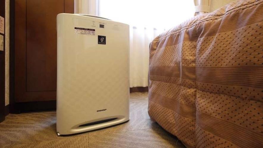 ■全室加湿機能付き空気清浄機完備