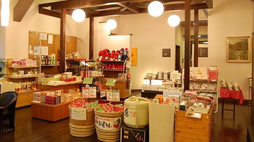 ■売店コーナーあり