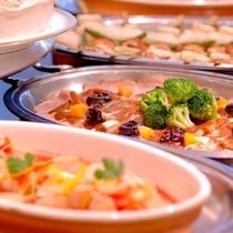 ◆バイキング朝食~品数豊富・飛騨高山郷土料理あり~