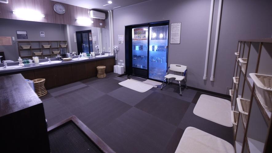 ■大浴場脱衣室