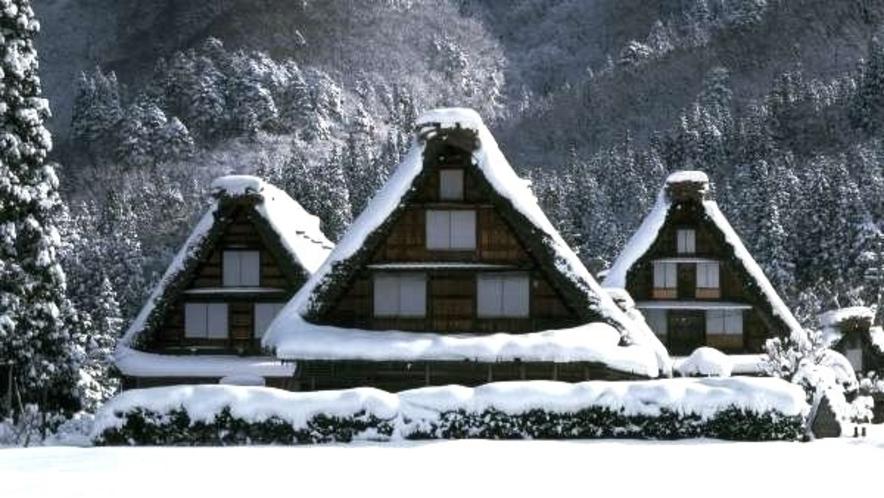 ■冬の白川郷も車で行ける♪