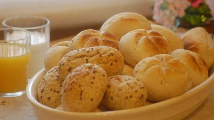 ■天然酵母パンが人気☆