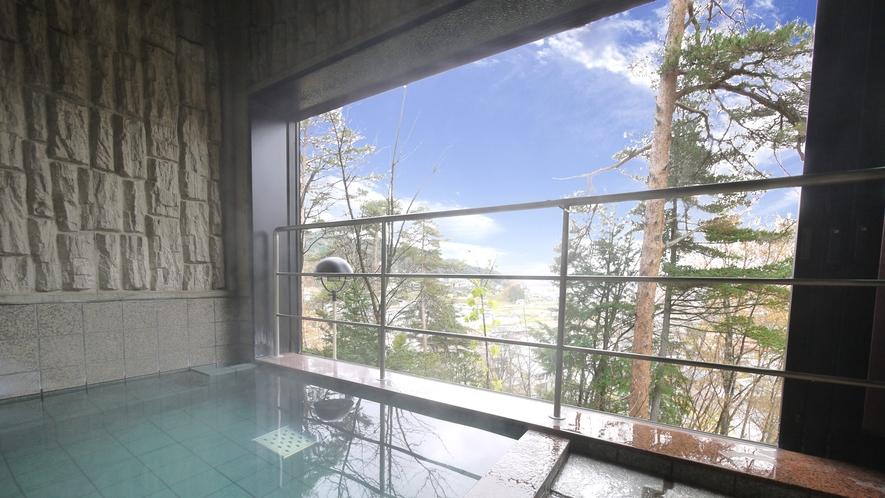■飛騨高山天然温泉大浴場(展望風呂)