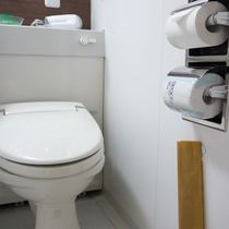 全室ウォシュレット付トイレ完備
