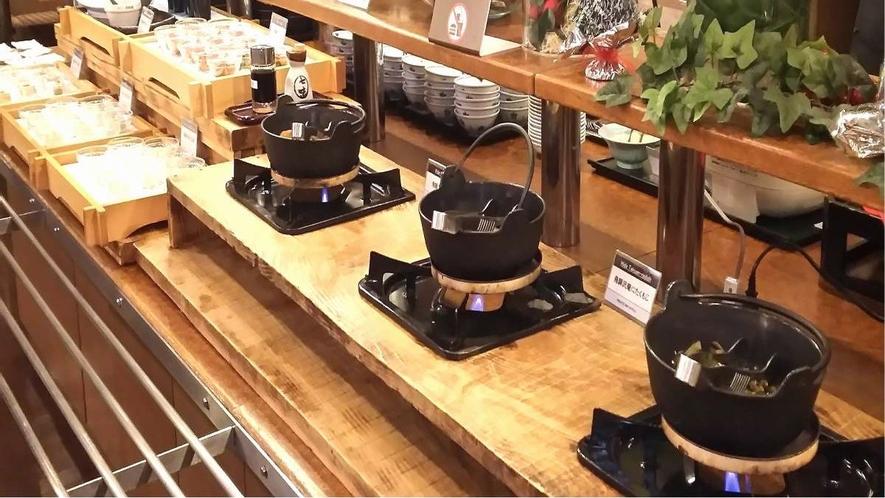■飛騨郷土料理コーナーあり