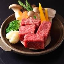 肉料理一例