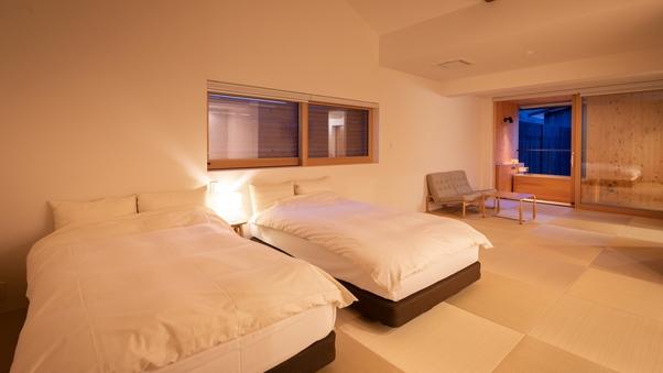 YAMAGATA04 檜露天風呂付和洋室スイート(54平米)