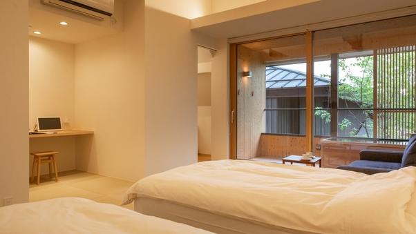 SAKURA06 檜露天風呂付 和洋室ツイン(37平米)