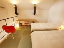 【KURA03】2階ベッドルーム