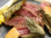 【夕食例】メインは置賜の上質なお肉を!米沢牛を瀧波ならではの味わいで
