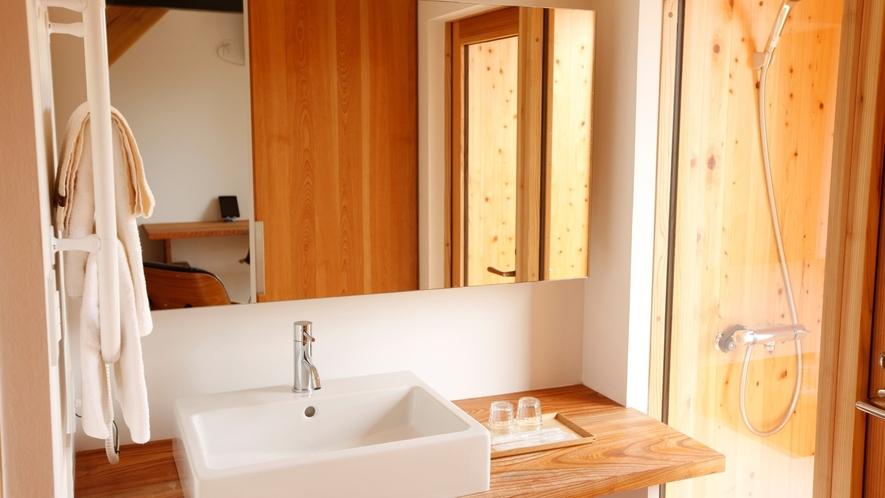 【KURA03】快適な洗面スペース