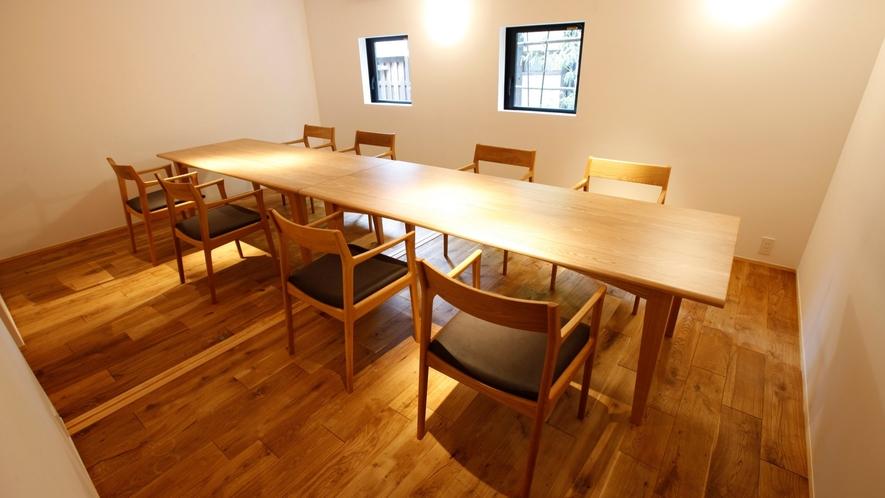 【個室会食場】ご家族やグループで楽しむ食事のひと時に、広い個室の対応可能