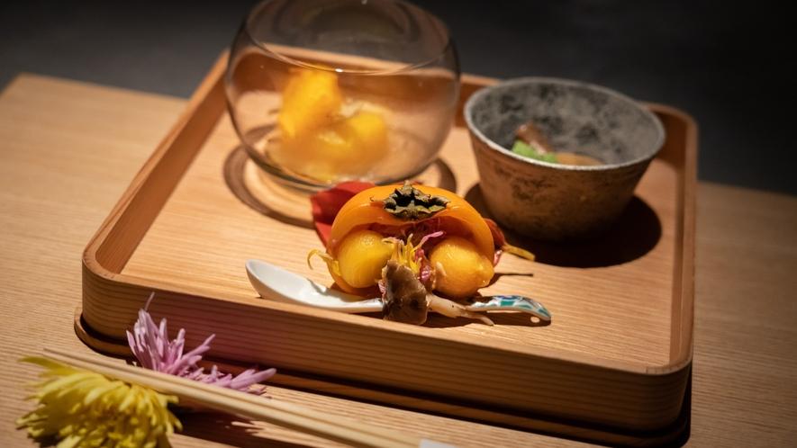 【夕食】秋の料理例