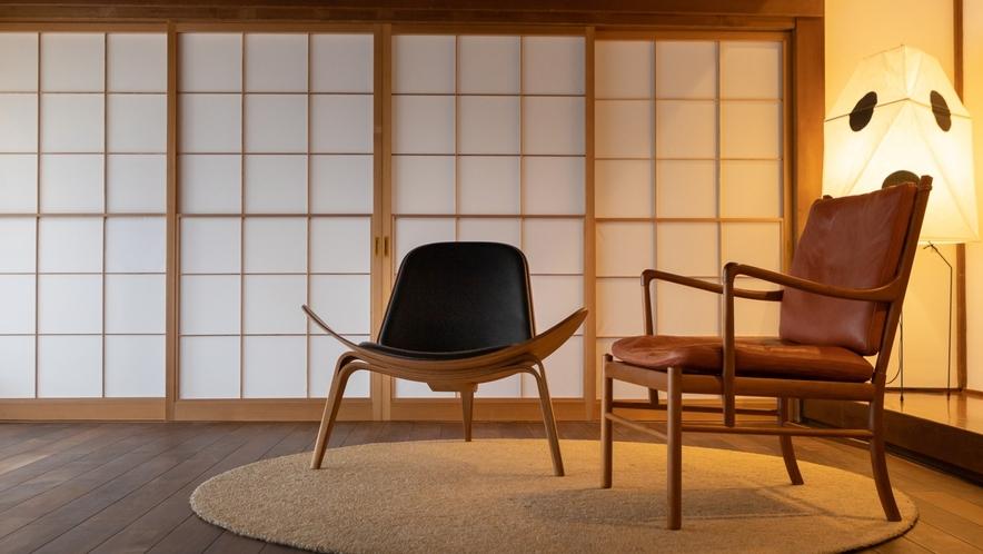 【KURA01】こだわりの家具でゆっくりお寛ぎください