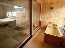 【YAMAGATA】山形で製造された名作家具や山形で活躍する作家の作品などを配しす。1階2階各3室、