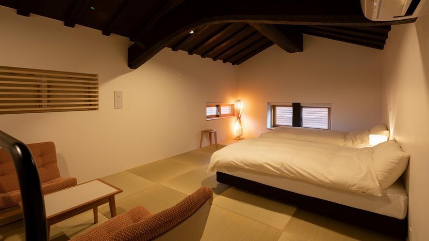 【KURA02】2階ベッドルーム