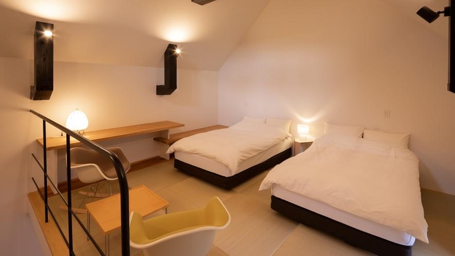 【KURA03】2階がベッドルーム