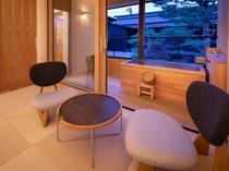 【YAMAGATA05】山形の工芸品などを集め、テラスにはヒノキ製の露天風呂付